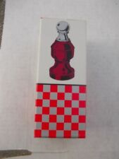 1) Vintage Avon Chess Piece Wild Country Aftersha The Pawn Bottle + Original Box