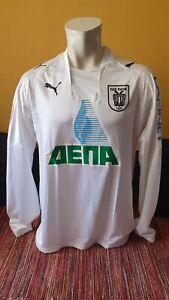 PAOK Match Worn Shirt Jersey Maillot #7 Sergio Conceição FC Porto Portugal Greek