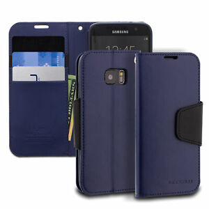 ModeBlu Classic Diary Galaxy S7 Edge Case Series PU Leather Wallet Case Cover
