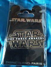 Pins Disney Star Wars The Force Awakens Disneyland Paris Pins Trading