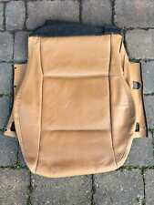 Mazda MX-5 MK2 1997-2001 Driver R/H Brown/Tan Leather Seat Cover BOTTOM ONLY!