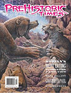 NEW #135 Issue Prehistoric Times dinosaur magazine PT Fall 2020 LATEST ISSUE!