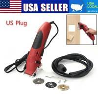 400W Mini Laser Circular Saw Electric Corded Hand Held Grinder Cutting Tool USA