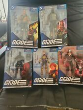 5 Hasbro G.I. Joe Classified Series  Figures