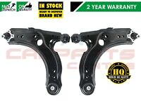 FOR VOLKSWAGEN VW GOLF MK4 GTI TURBO FRONT 2 LOWER SUSPENSION WISHBONE ARMS ARM
