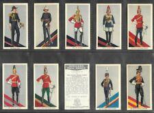 "U.K.T. 1936 SCARCE ( MILITARY ) FULL 36 CARD SET  """"  OFFICERS FULL DRESS  """""