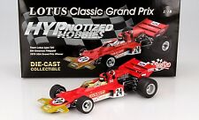 SUNSTAR 1:18 F1 1970 LOTUS 72 E. FITTIPALDI 1ST USA #24 DIECAST RED 18270