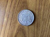 IMPERO FRANCESE NAPOLEONE III 5 FRANCHI 1869 IN ARGENTO 900 PESO 25 gr SUBALPINA