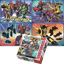 Trefl Hasbro 4 in 1 70+54+48+35 Piece Jigsaw Puzzle For Kids Transformers