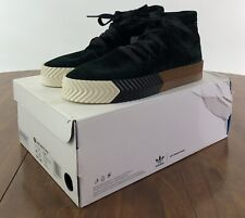 ADIDAS ORIGINALS BY ALEXANDER WANG SKATE MID GREEN NIGHT SZ. 7 AC6851