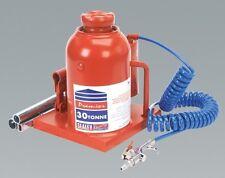 Sealey AM30 Bottle Jack 30tonne Manual/air Hydraulic Post