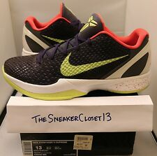 Nike Zoom Kobe VI 6 Chaos Sz 13 purple ink volt joker
