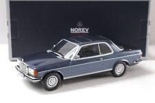 1:18 norev mercedes 280 CE Coupe 1980 Blue New en Premium-modelcars