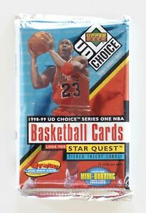 1998-99 Upper Deck UD Choice Basketball Hobby Pack