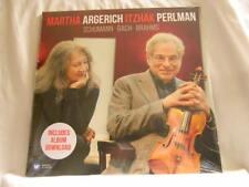 MARTHA ARGERICH & ITZHAK PERLMAN Schumann Bach Brahms SEALED LP