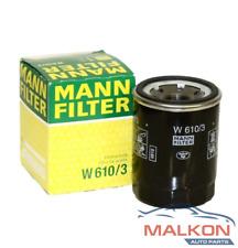 MANN OIL FILTER W610/3 For Mitsubishi Triton MQ 2.4i 2.4D Pajero Outlander ASX