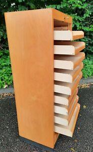 EKA Werke Notenschrank Papierschrank Rolladenschrank Rollschrank Höhe 106 cm