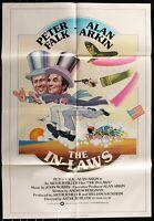 THE IN-LAWS Alan Arkin Peter Falk  Original 1979 ONE SHEET MOVIE POSTER 27 x 40