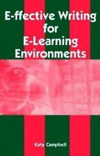 E-Ffective Writing for E-Learning Environments (Cases on Information Technology)