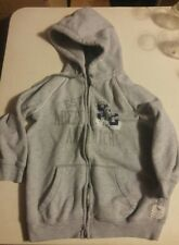 000 Abercrombie & Fitch 1892 Hoodie Size Large Gray Double Zipper