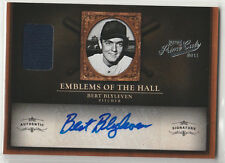 BERT BLYLEVEN Twins HOF 2011 Prime Cuts Emblems of the Hall Auto 08/10