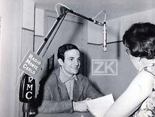 FRANCOIS TRUFFAUT Les 400 Coups Radio RMC Festival Cannes Monte-Carlo Photo 1959