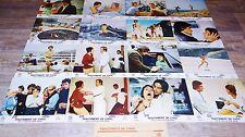 alain delon TRAITEMENT DE CHOC ! jeu complet de 16 photos cinema lobby card
