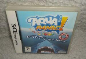 Aqua Panic! Nintendo DS Game