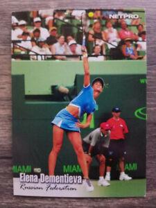 2003 NetPro #22 Elena Dementieva RC Rookie Card