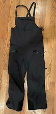 Arc'teryx Gore-tex Bib Waterproof Pants - Mens - Black - L/G REG (DAMAGED)