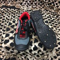 NEW GI Sportz Fast'r Paintball Cleats - Black/Red - Men's Size 12