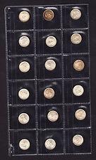 1935 Straits Settlements 5 Cents KM# 36  Silver Coin aUNC+