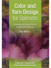 Color and Yarn Design for Spinners-Dvd with Deb Menz