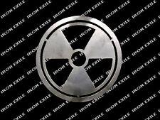 Radioactive Metal Emblem Badge Sign Zombie Apocalypse Prepper Gear