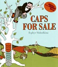 Caps for Sale Board Book: A Tale of a Peddler, Some Monkeys and Their Monkey Bus