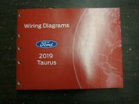 OEM Ford 2019 Taurus Shop Manual Wiring Diagram Book nos