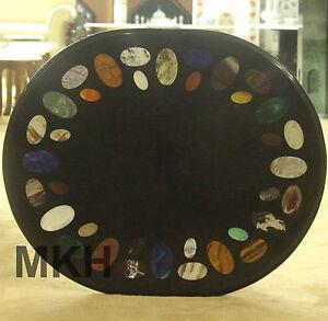 coffee table top marble style mid century wood base vintage regency modern oval