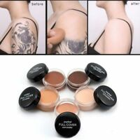 Hide Blemish Full Cover Concealer Creamy Primer Foundation Cream Face Makeup