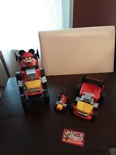 LOT Disney Jr Mickey and the Roadster Racers Jump N' Race Hot Rod Car Sounds