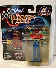 """JEFF GORDON NASCAR WINNER'S CIRCLE STARTING LINEUP 5"""" FIGURE KENNER SERIES 2"""