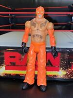 WWE Wrestling Mattel Basic Series Summerslam Orange Pants Rey Mysterio Figure
