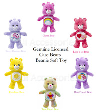Care Bears Licensed 20cm Beanie Soft Toy
