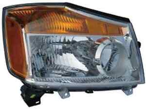 New Right passenger headlight light fit for 2008 2009 2010 2011 2012 2013 Titan
