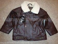 Baby K por Myleene Klass aspecto de cuero Flying chaqueta 1.5-2 Años