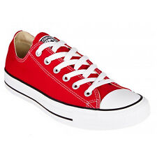 Converse all Star Ox Chuck Shoes Trainers Canvas Red M9696C