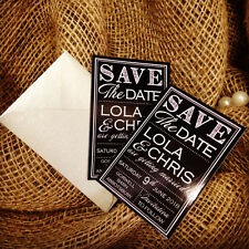 Wedding Save the Dates - Wedding Save the Night- Magnets x10