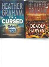 HEATHER GRAHAM - THE CURSED - A LOT OF 2 BOOKS