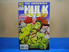 THE INCREDIBLE HULK Volume 1 #422 of 474 1962-97 Marvel Comics Uncertified