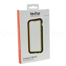 Genuine Tech21 Impact Band Case For Apple iPhone 5S/5/5C/SE - Smokey