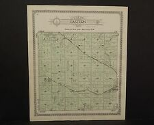 Nebraska Pierce County Map Eastern Township 1920 P6#21